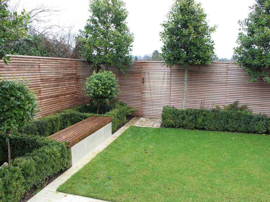 Contemporary Fencing U2013 U2013 Beautiful Cedar Wood Fencing ...