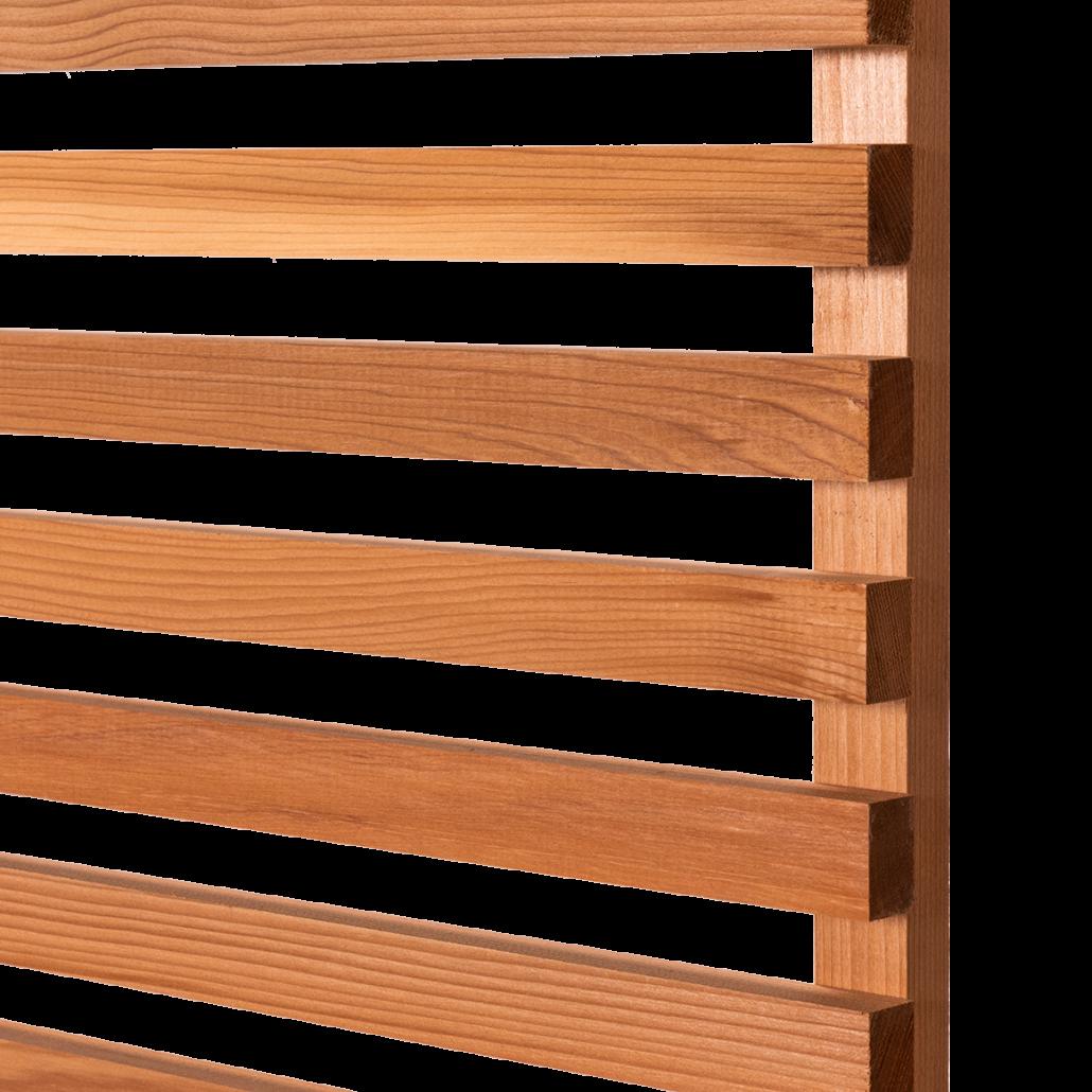 Cedar Wood Fence Panel