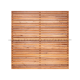 Redwood Venetian Fence Panel