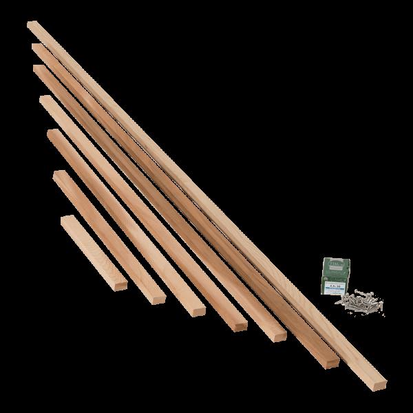 Slatted Panel Width Adjustment Kit