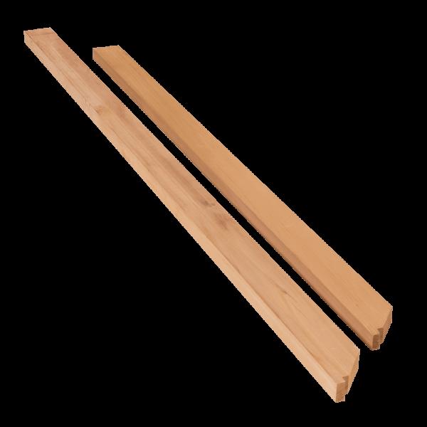 Cedar Wall Plate Profile End